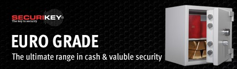 Contact us to enquire about Securikey Cash Safes & Vaults