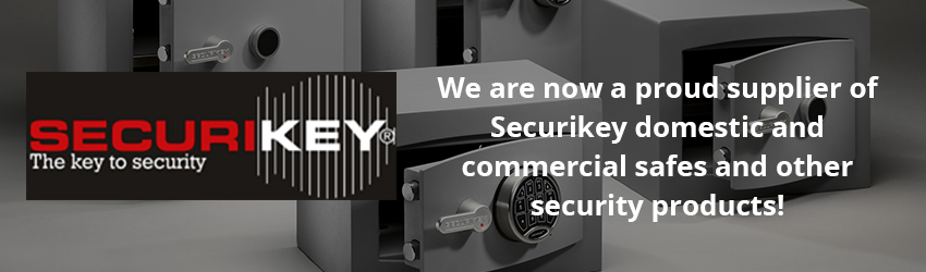 DJT Locksmiths now install Securikey safes & equipment